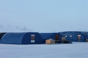Barneo tent camp