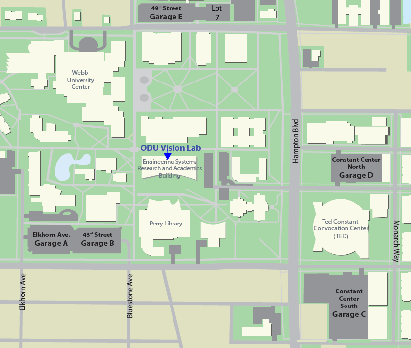 Old Dominion Campus Map.Contact Us Vision Lab