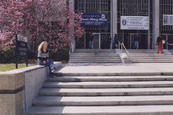 Front Steps of the Webb Center, circa 2000-2005