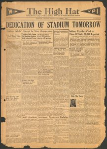 High Hat Front Page, 1936