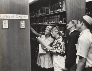 Freshmen Library Orientation, 1968