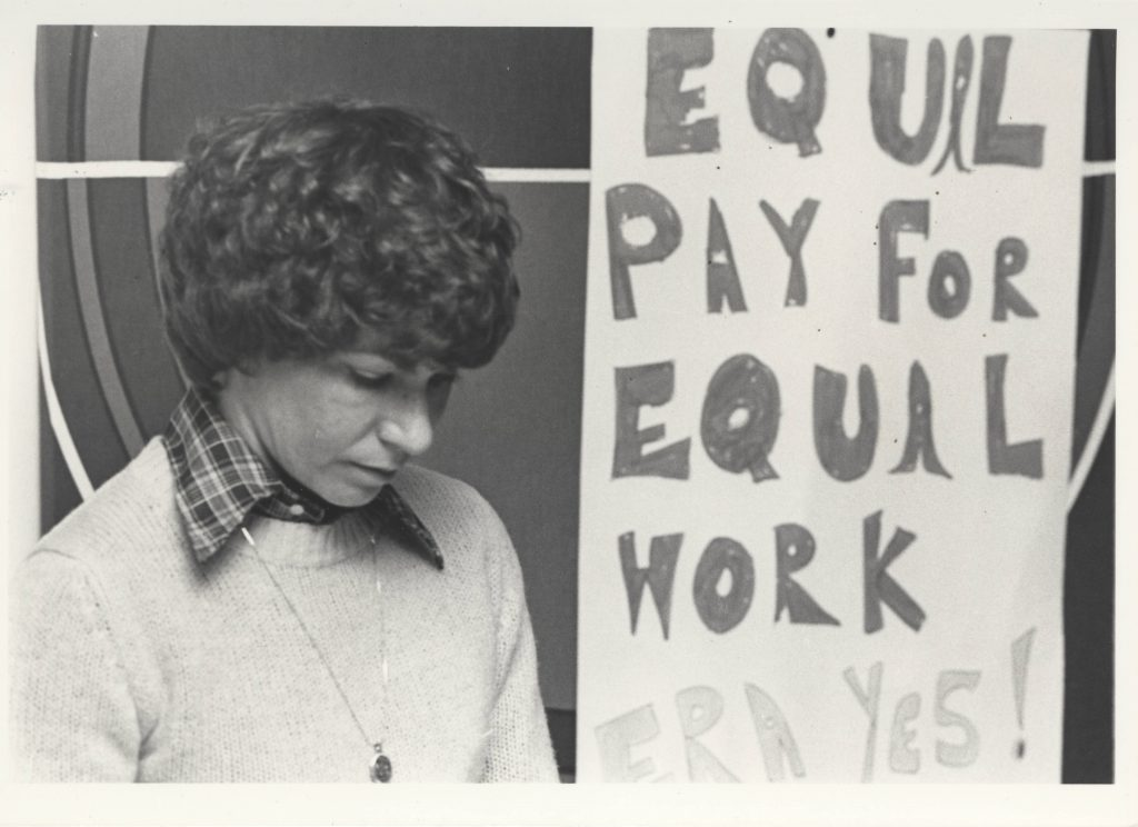 Equal Rights Poster at Every Women's Festival, 1979