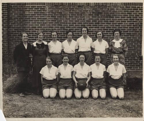 Women's Basketball Team, 1934