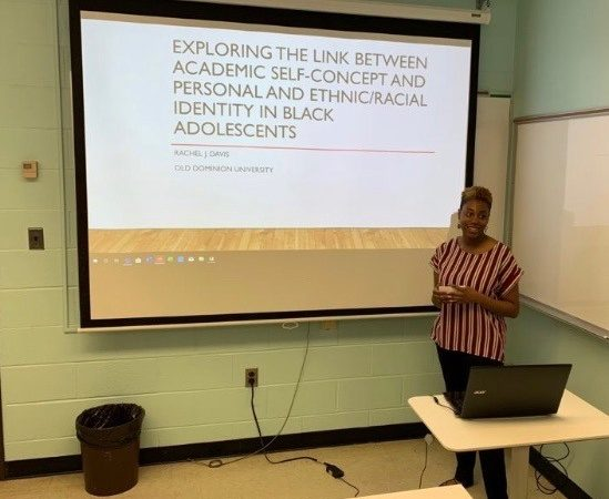 Rachel Davis Defends her Honor's Thesis